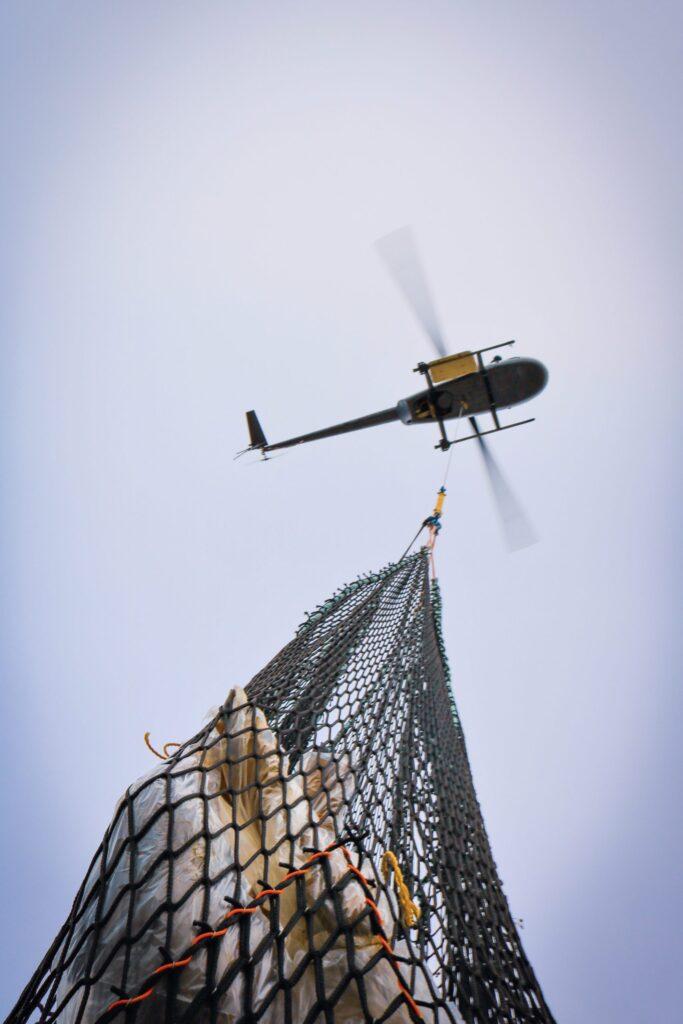 Héli Mistral Service hélicoptère Robinson R44